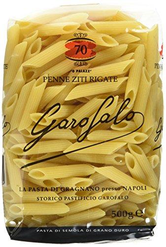 Garofalo Penne Ziti Rigate , 10er Pack (10 x 500 g)