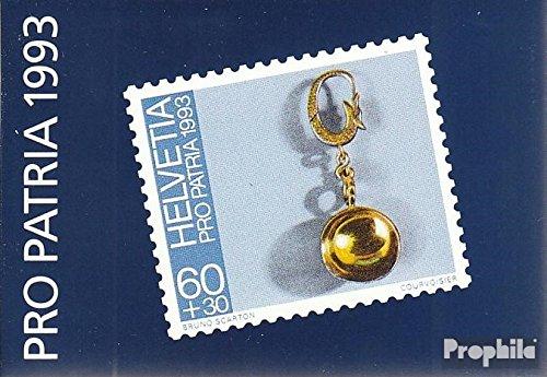 Prophila Collection Schweiz MH95 (kompl.Ausg.) 1993 Pro Patria (Briefmarken für Sammler) Mineralien / Schmuck
