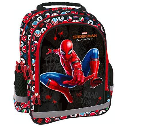 Spiderman Marvel Spider Man Rucksack Tasche Schulrucksack Schultasche + Sticker von kids4shop