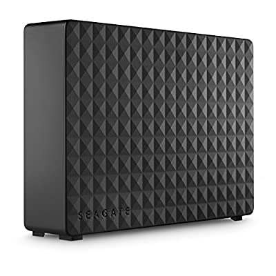 Seagate Expansion Desktop 6 TB External Hard Drive HDD – USB 3.0 for PC Laptop (STEB6000403) - Amazon Exclusive