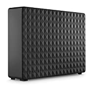 Seagate Expansion Desktop, Unità Disco Esterna Desktop da 6 TB, USB 3.0 per PC Desktop, PC Portatili e Mac (STEB6000403)