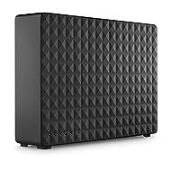 Seagate Expansion Desktop, Unità Disco Esterna Desktop da 6 TB, USB 3.0 per PC Desktop, PC Portatili e Mac (STEB6000403)