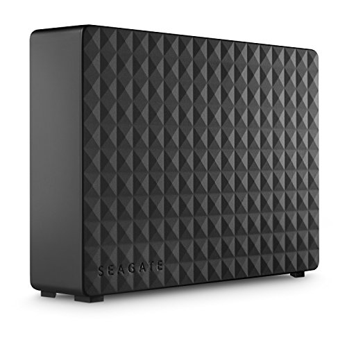 Seagate Expansion Desktop, 6 TB, Unità Disco Esterna Desktop, USB 3.0 per PC Desktop, PC Portatili e Mac, 2 Anni di Servizi Rescue (STEB6000403)
