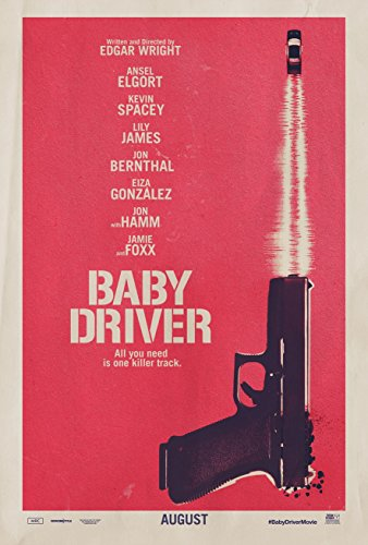 Poster Baby Driver Movie 70 X 45 cm