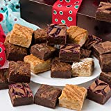 DECADENT TASTING, GLUTEN FREE FRESH BROWNIES: – Indulge your sweet tooth with Brownie Points' gluten free gift assortment. Collection includes 4 of each flavor: chocolate caramel sea salt, chocolate fudge, butterscotch sensations, chocolate caramel c...