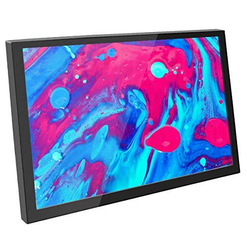 ELECROW Monitor portátil de 8 pulgadas con altavoces integrados y resolución de 1280 x 800 hasta 1080p HDMI compatible con Raspberry Pi 4, Raspberry Pi 3B, ordenador portátil, PC, consolas de juegos