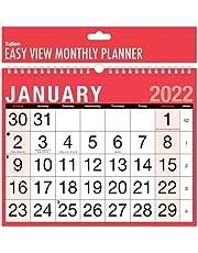 2022 A4 łatwy miesiąc do przeglądania spiralny kalendarz ścienny krajobraz dom biuro praca