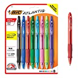 BIC VLGBAP81-AST Velocity Bold Fashion Retractable Ball Pen, Bold Point (1.6 mm), Assorted, 8-Count