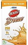 Boost Breeze Nutritional Drink, Orange - No Artificial Sweeteners - 8 FL OZ (Pack of 6)