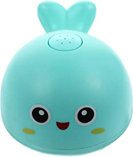 TOYANDONA Baby Bath Toys Dolphin Light Up Bath Toy Automatic Spray Water Shower Bathtub Toy with LED Light and Music for T...
