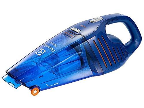 エレクトロラックス 紙パックレス式ハンディクリーナー充電式 乾湿両用タイプディープブルー【掃除機】Electrolux Rapido(ラピード ウェットアンドドライ) ZB5104WD