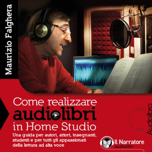 Come realizzare audiolibri in Home Studio audiobook cover art