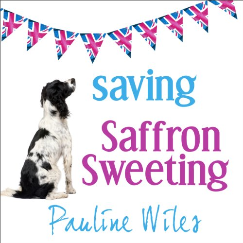 Saving Saffron Sweeting audiobook cover art