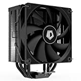 ID-COOLING SE-224-XT Black CPU Cooler AM4 CPU Cooler 4 Heatpipes CPU Air Cooler 120mm PWM Fan Air Cooling for Intel/AMD