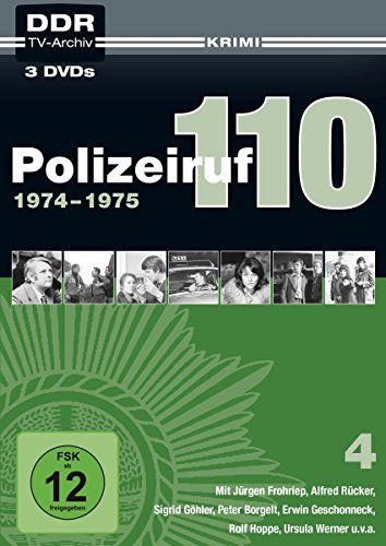 Polizeiruf 110 - Box 4: 1974-1975 (DDR TV-Archiv) [3 DVDs in Softbox]