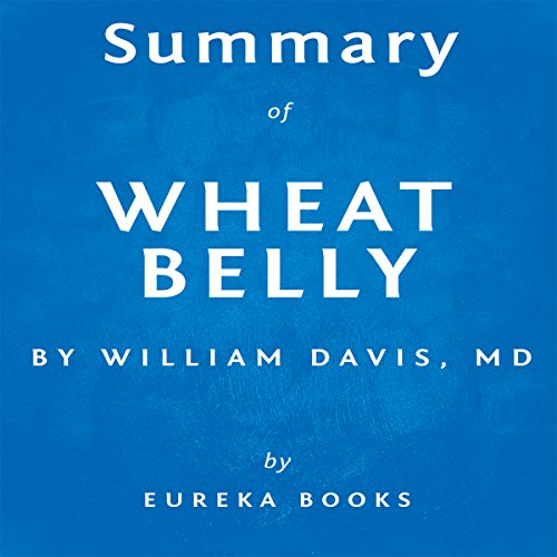 Summary of Wheat Belly by William Davis audiobook cover art