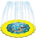 Cojín de rociadores for Niños Agua Splash Alfombra de Juego al Aire Libre del jardín del Verano Beach Aerosol de Agua Mat Juguetes Juegos for el bebé ChildrenToddler Actividades (Size : 160cm)