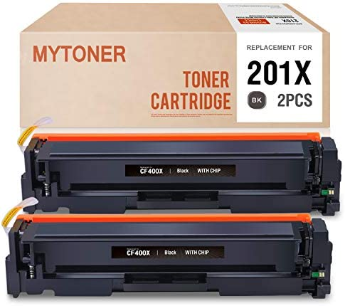 MYTONER Compatible Toner Cartridge Replacement for HP 201X CF400X for HP Color Laserjet Pro product image