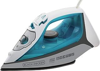 BLACK+DECKER Ferro de Passar a Vapor Azul e Branco 110V FX3060