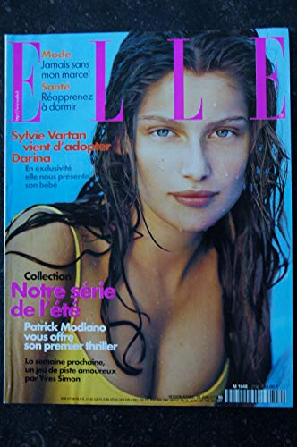 ELLE 2742 20 JUILLET 1990 COVER LAETITIA CASTA SYLVIE VARTAN PATRICK MODIANO