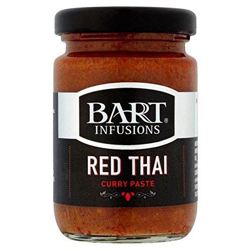Bart Rojo Tailandés 90g De Pasta De Curry (Paquete de 2)