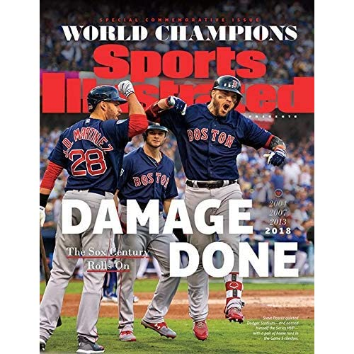 2018 Boston Red Sox Steve Pearce World Series Sports Illustrated Commemorative