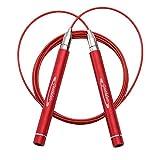 Goothdurs Speed Jump Rope Tangle-Free with Ball Bearing - Adjustable & Self-Locking Aluminum...