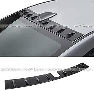 Remix Custom Rear Roof Spoiler For 2015 2016 Subaru WRX/STI Vortex Generator Shark Fin Roof Spoiler