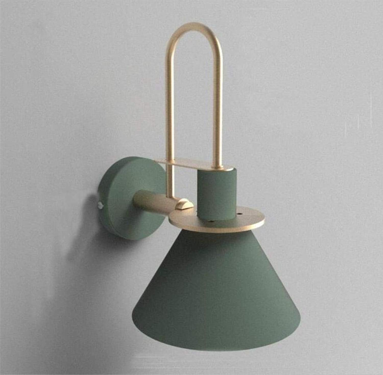 QHY Moderne Led Wandleuchte Wandleuchte Individualitt Kreative Wind Treppenhaus Gang Badezimmer,Grün,A