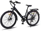 Electric City de Ranger 500, desmontable 36V / 10Ah litio-ion batería integrada con el marco, Shimano de 7 velocidades, frenos ajustables, una silla doble disco Tektro bicicleta eléctrica for los desp