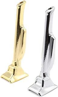 2 Pack Metal Aluminium Snuff Bullet Dispenser Snorter More Easy Sniffe