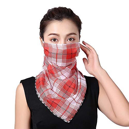 Anwasd7 Nek Zomer Outdoor Rijden Groothandel Mode Drukken Vrouwelijke Grote Hals Protector Zonnebrandcrème Sjaal Rijden Shading Bib
