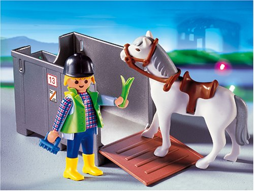 PLAYMOBIL® 4316 - Transportbox mit Pferd