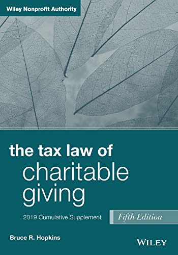 Download The Tax Law of Charitable Giving: 2019 Cumulative Supplement, 5th Edition 1119539323