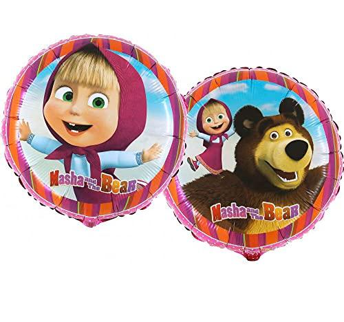 Ballonim® Mascha und der Bär rund...