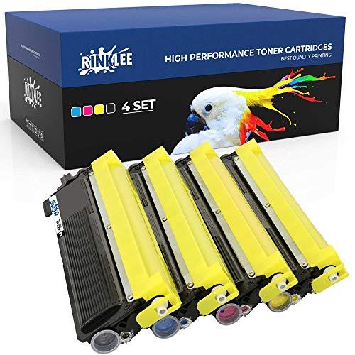RINKLEE TN230 TN 230 Tonerkartusche kompatibel für Brother DCP-9010CN HL-3040CN HL-3045CN HL-3070CN HL-3070CW HL-3075CW MFC-9120CN MFC-9320CW | hohe Reichweite 2200/1400 Seiten | 4er-Pack
