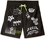 Diesel Men's BMBX-CAYBAY-Long Shorts, S Black