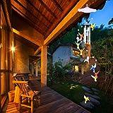 Younoo - Carillones de viento para interior y exterior con campanilla de viento para decoración de...