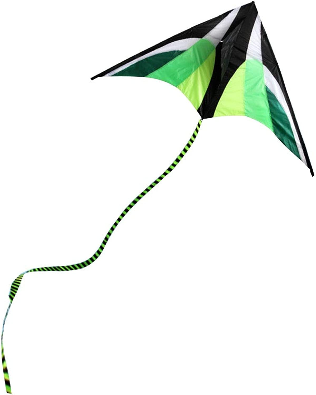 Caixia Kite, New Grassland Kite, Beach Long Tail Kite, Breeze Easy to Fly Green Kite