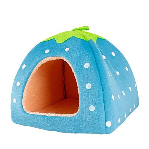 Sannysis Caseta para Mascota Plegable Suave Cama para Perro o Gato (color2)