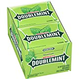 WRIGLEY'S DOUBLEMINT Chewing Gum, 15 pieces (10 packs)