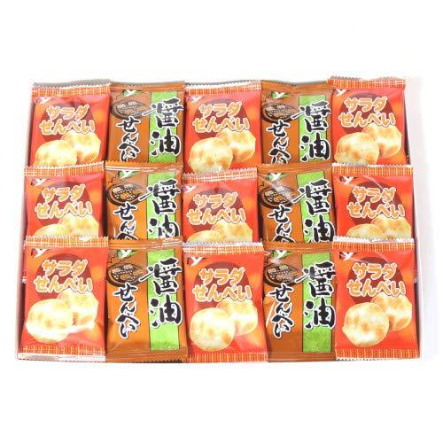 お手軽ギフト!ヤスイフーズの小袋お菓子プチギフトセット B (2種・計30個)