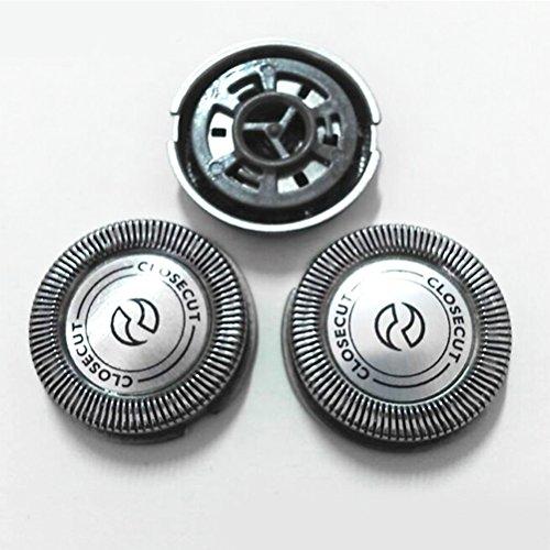 Zhuhaitf Pack of 3 Shaving Blades Shavers Head Cutters Net HQ5812 pour Hommes for Philip HQ5812 HQ5820 HQ6855 HQ6645 HQ6695 HQ6920 HQ6950 HQ6990 AT620