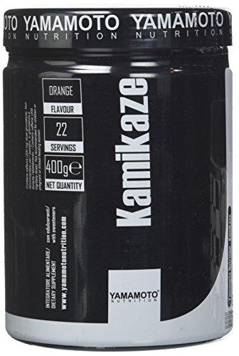 Yamamoto Nutrition Kamikaze integratore alimentare pre workout con tecnologia CNOP-1™ - 400 g gusto Arancia