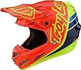 Troy Lee Designs 105757014 - Casco de moto Se4 Composite Silhouette de fibras compuestas, tecnología Mips