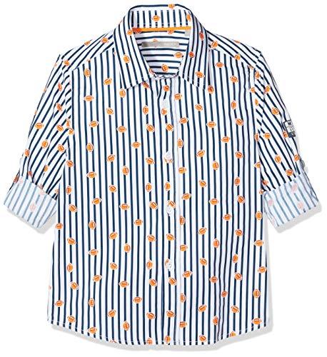 Mexx Jungen 952105 Hemd, Mehrfarbig (Allover Print 318803), (Herstellergröße: 122)