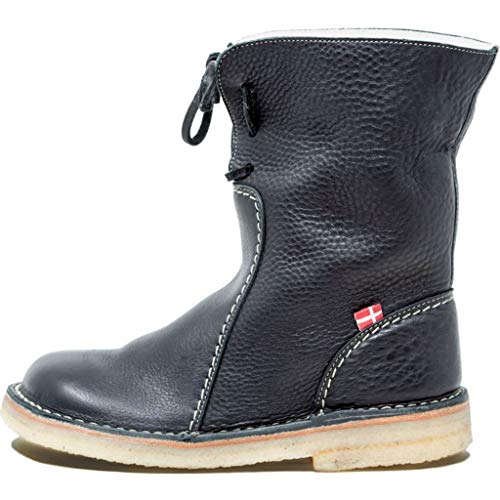 Duckfeet Arhus Damen Winterstiefel/Boots Größe 41 EU Schwarz (Schwarz)