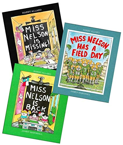 Set of 3 paperback copies of title: Miss Nelson is Back