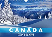 Canada Impressions (Wall Calendar 2021 DIN A4 Landscape): The second largest country in the world (Monthly calendar, 14 pages )