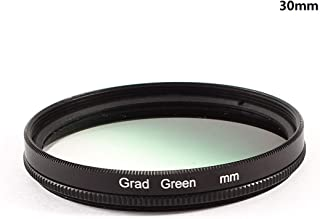 Yunchenghe Green Gradient Filter for Canon Nikon Sony All Brands of 52mm Digital SLR Camera Lens